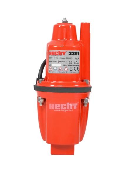 HECHT 3301 búvárszivattyú membránszivattyú szivattyú 300 W 1400 l/óra HECHT3301