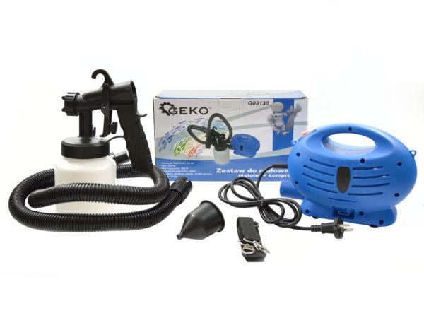 Geko elektromos festékszóró készlet 650 W G03130