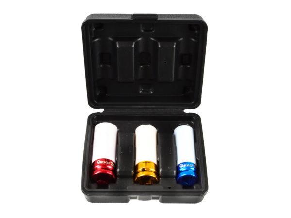 """Geko dugókulcs krovafej készlet extra hosszú 17-19-21mm 1/2"""" G10510"""