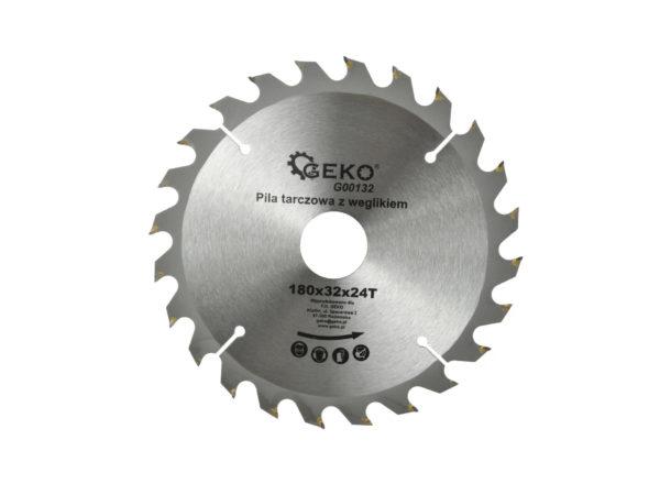 Geko Fa vágókorong 180X24 32mm G00132