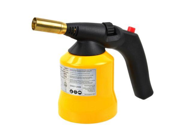 Geko gázforrasztó gázégő forrasztó fém házas piezo G20071
