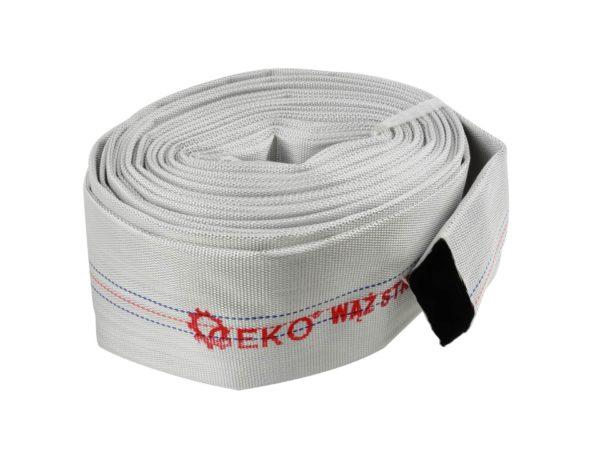 GEKO Tűzoltó/locsoló tömlő, nyomótömlő kapocs nélkül 3 coll 20m G70027