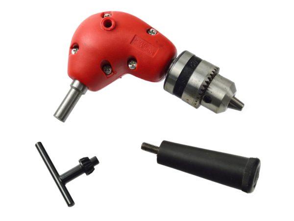 Sarokfúró, kulcsos tokmánnyal 1.5-10mm, 90°