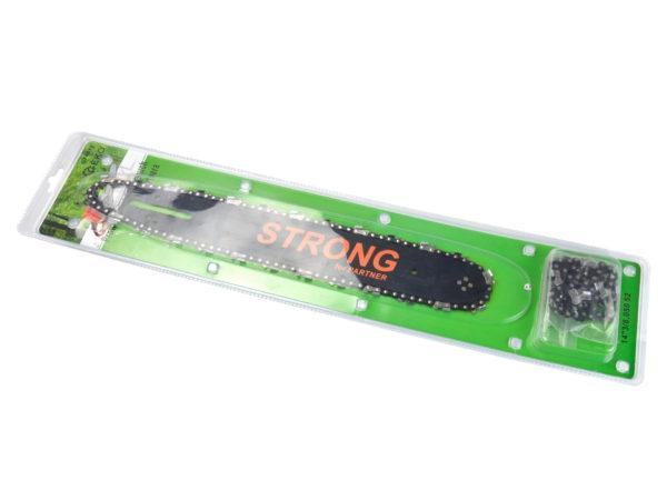 Geko Strong láncvezető + 2 lánc Partnerre vagy kínai gépre 35 cm G74012