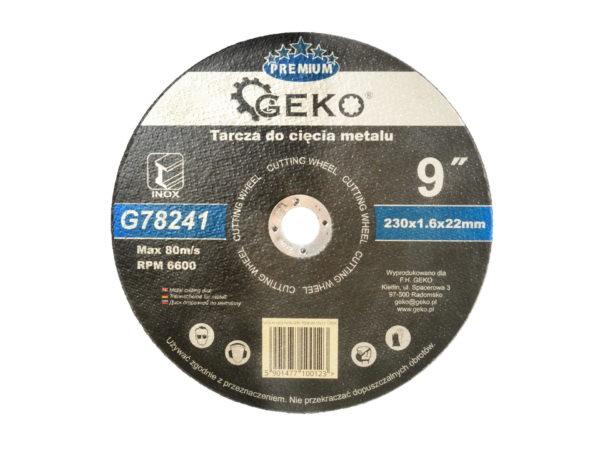 Geko vágókorong 230×1,6×22 mm G78241