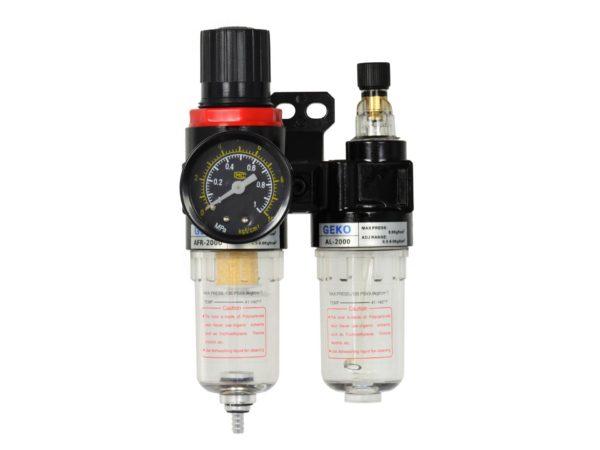 Geko vízleválasztó levegőszabályzó és olajzó rendszer G01176