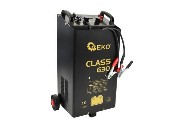 GEKO Akkumulátortöltő és indító bikázó CLASS 630 G80026