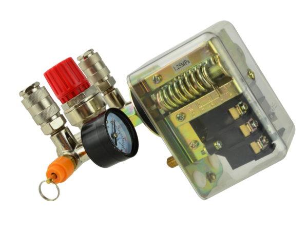 GEKO automata nyomáskapcsoló nyomásszabályzó szelep 2 órával 400V G80324