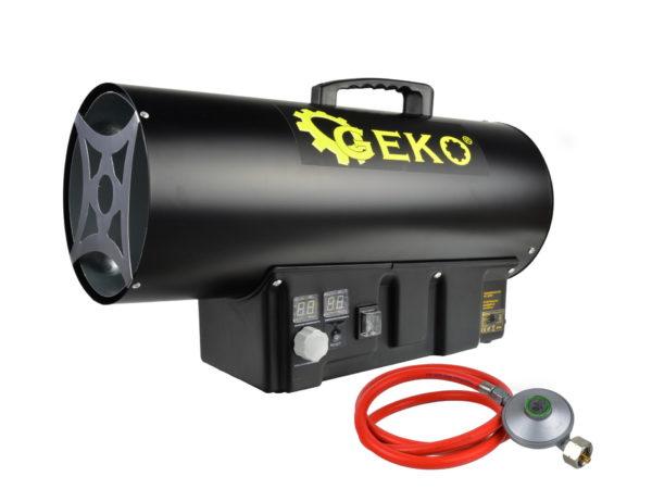 Geko PB gázüzemű hőlégbefúvó hőlégfúvó hősugárzó 40kW G80412