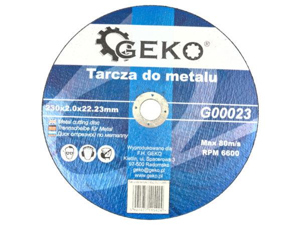 Geko vágókorong 230x2x22,23mm fémhez G00023