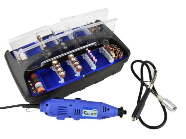Gravírozó készlet mini köszörű gravírozó ostorköszörű 300 db-os 270 W G81221
