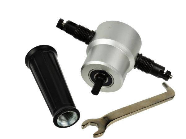 GEKO fúrógépbe fogható lemezvágó fémlemez vágó adapter G81231