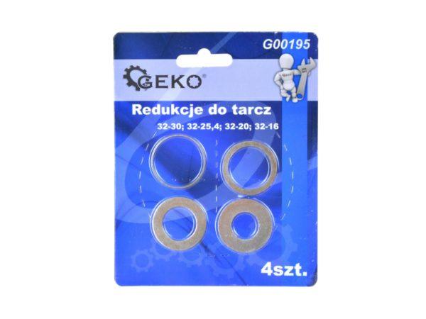 Geko szűkítő gyűrű készlet 4db-os G00195