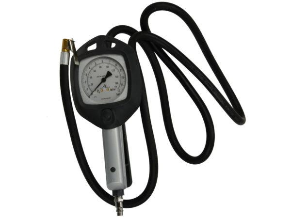 Geko Profeszionális kerékfuvató levegős pisztoly (órával) 0-12bar G01159