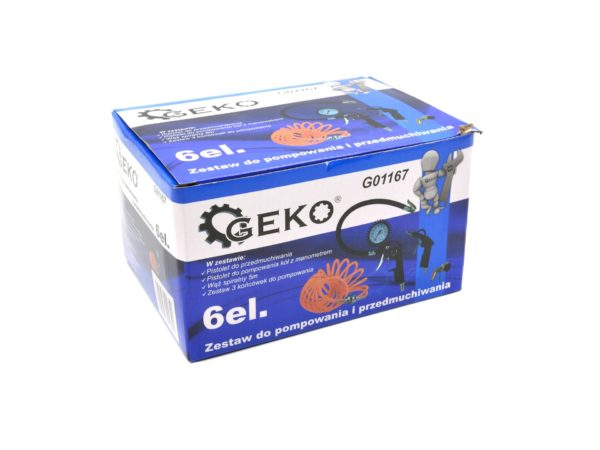 Geko Levegős készlet kompresszor szett pneumatikus szett G01167