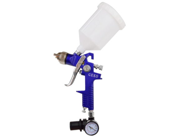 Geko Festékszóró pisztoly HVLP + reduktor G01182