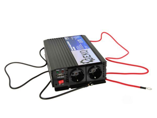 Geko feszültségátalakító inverter 24V/230v 800/1600 W pill. G17007