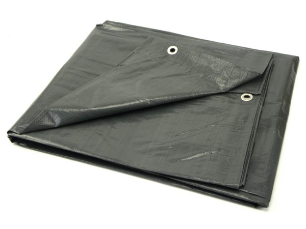 Geko Takaróponyva vastag szürke (4x6m) 120gr G70522