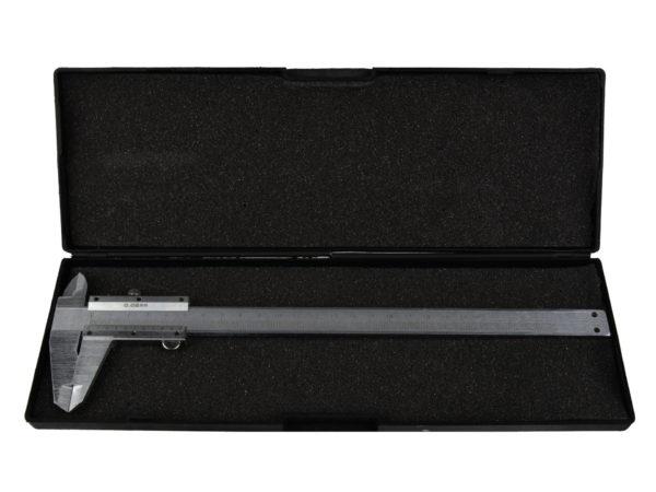 "Geko Tolómérő 150mm/6""x0,05 műanyag dobozzal G01478"