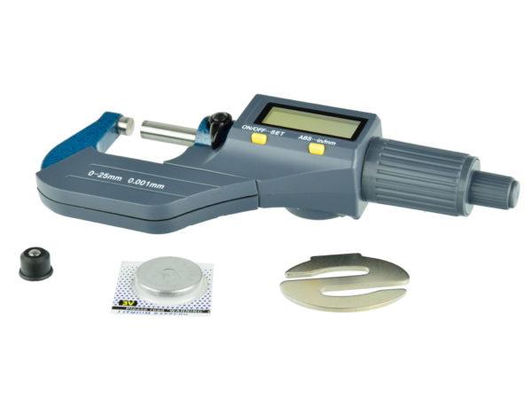 GEKO Digitális mikrométer 0-25 mm G01487
