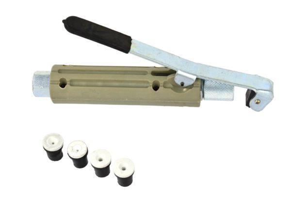 Geko homokfúvó pisztoly 4db fúvókával homokfújó pisztoly homokszóró G02007