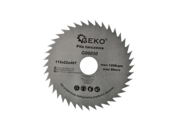 Geko körfűrész tárcsa 115x22x40T G00050