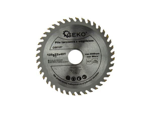 Geko körfűrész tárcsa 125x22x40T G00107