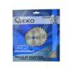 Geko körfűrészlap körfűrész tárcsa vídiás alumíniumhoz 200×32 mm 100 fog G78100