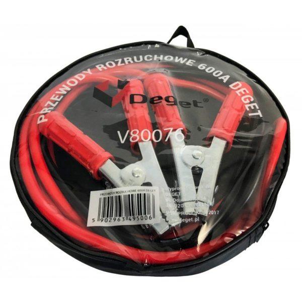 Verke autó indítókábel indító bika kábel bikakábel 2,5m 600A V80076