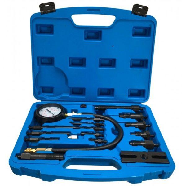 Verke dízel nyomásmérő készlet kompressziómérő kompresszió mérő 0-70bar V86258