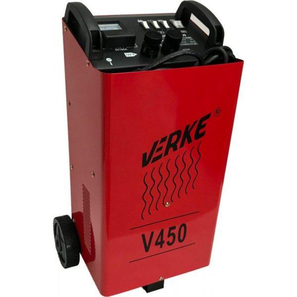 Verke akkumulátortöltő töltő és indító bikázó 320A 12/24V V450 V80008