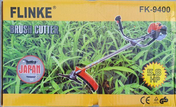 Flinke benzinmotoros fűkasza benzines bozótvágó 5,8le 65 cm3 FK-9400