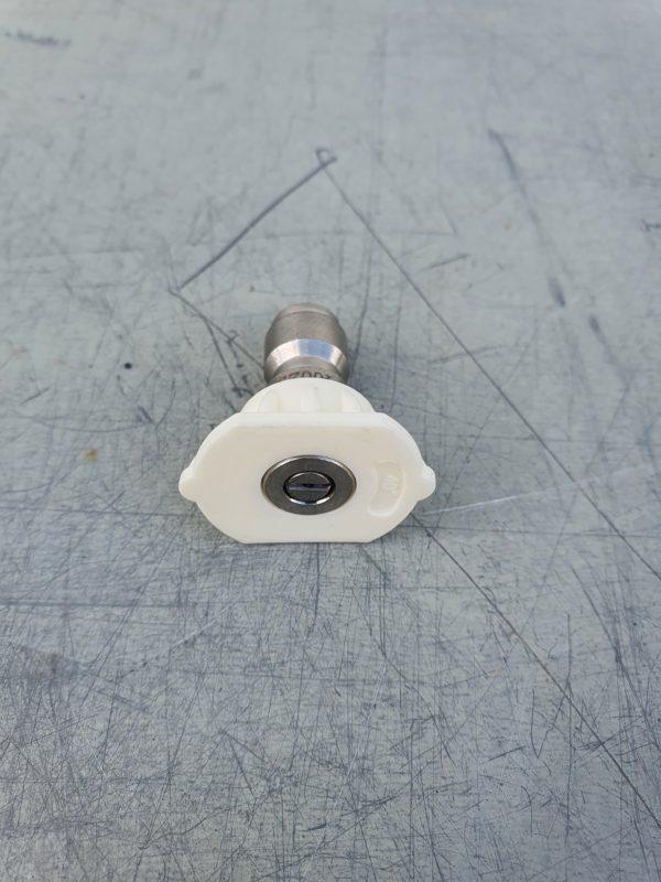 HECHT magasnyomású fúvóka nagynyomású fúvóka sterimó fúvóka fehér 40° H3230-32