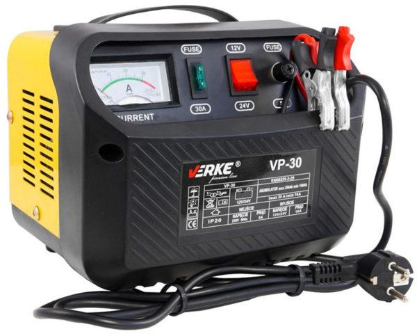 Verke akkumlátortöltő 12/24V VP-30 V80017