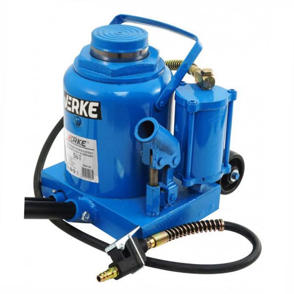 Verke hidraulikus pneumatikus emelő olajemelő palackemelő 50 t 280-440mm V80130