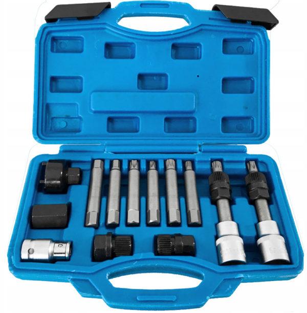 Verke generátor szerelő készlet 13 db-os V86220