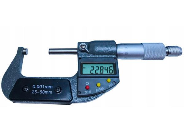 Verke mikrométer lcd kijelzővel  25-50mm v86008