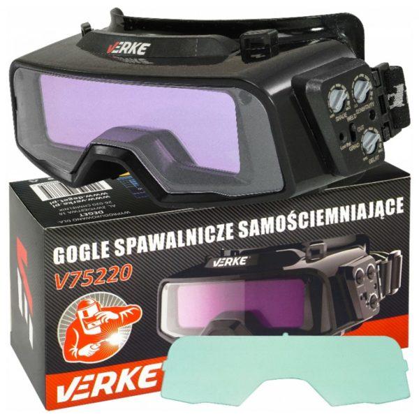 Verke YZ1000 automata hegesztőszemüveg DIN 9-13 V75220
