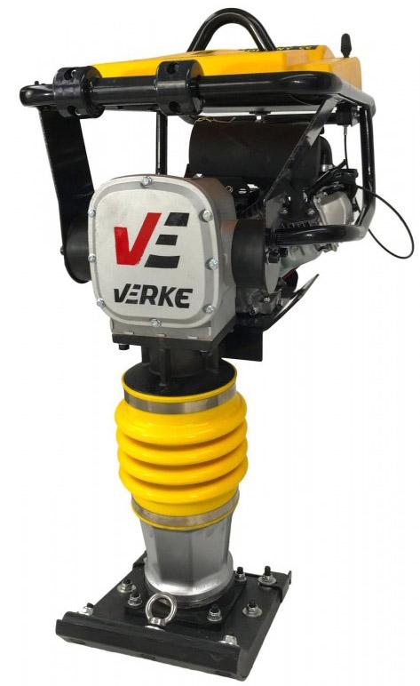 Verke honda GX160 motoros lapvibrátor 5,5le 78kg V10125