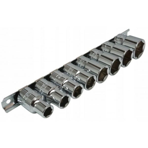 "Verke premium line 8 db-os dugókulcs készlet 1/2"" 10-22mm V39101"