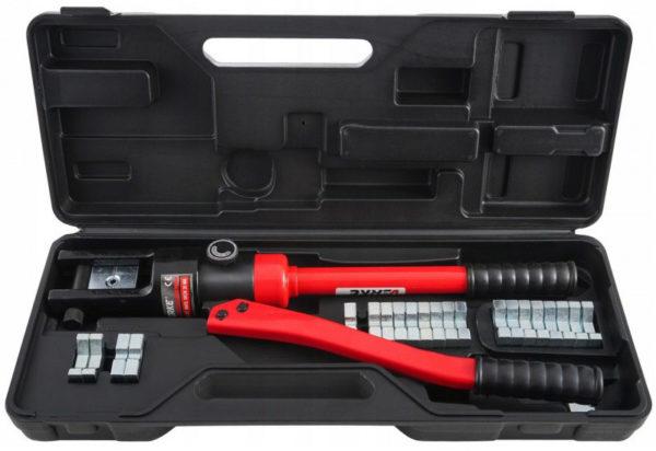 Verke 18t hidraulikus kétkezes krimpelő fogó 10-300mm v86269