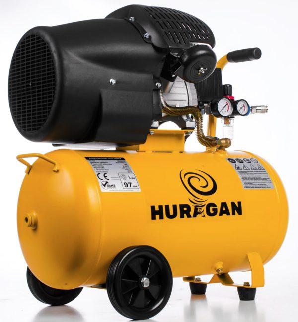 Huragan olajos kompresszor 2 hengeres 50l 2200W M88002
