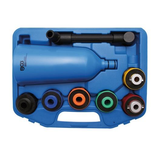 BGS Olajtölcsér adapterekkel. BGS-8505-1