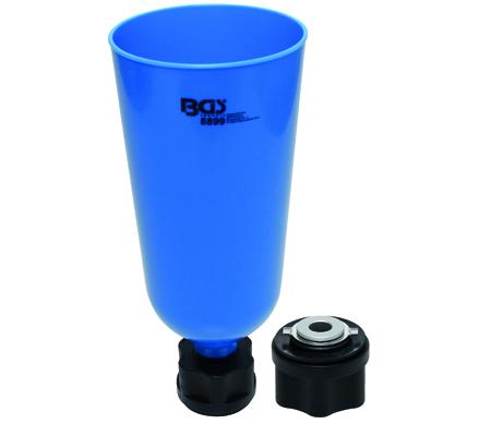 BGS Olajtölcsér bajonett adapterrel VAG, MB, BMW, Porsche, Volvo BGS-8899