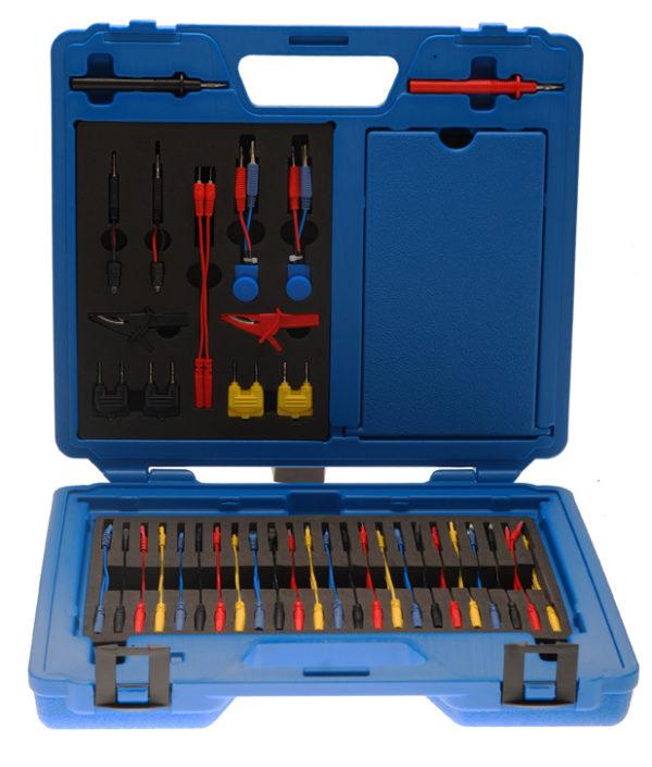 Vezeték készlet mérőműszerekhez, 92-részes BGS-2186