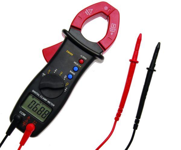 Multiméter lakatfogóval DC AC BGS-2202