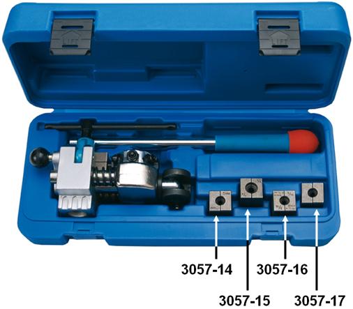 BGS Befogó pofák a 3057 peremezőhöz 5mm BGS-3057-16