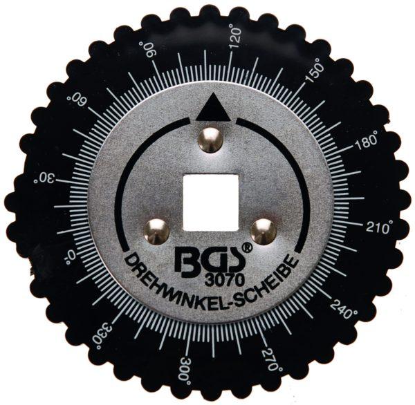 Szögrehúzó tárcsa hajtószárakhoz 1/2 BGS-3070
