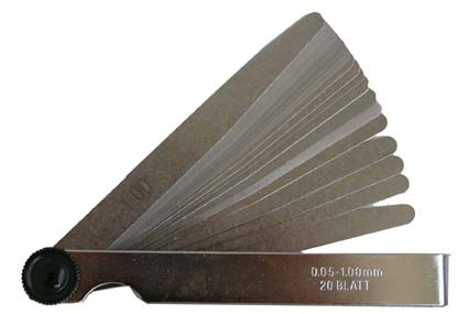 BGS Hézagmérő 20 lapos BGS-3083