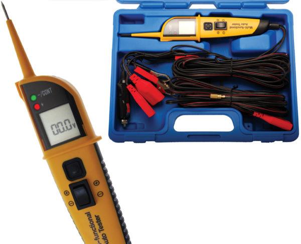 Feszültségmérő többfunkciós 12-24V BGS-40105